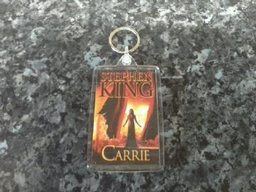 Carrie Jumbo Keyring. Stephen King Book Art. Horror